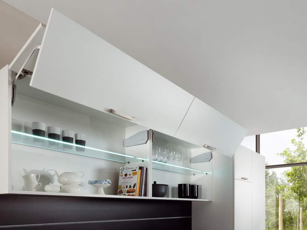 Кухня прямая ТБМ Люкс «Эмилия» (3.0 м, белый/беленый дуб) Изображение 4