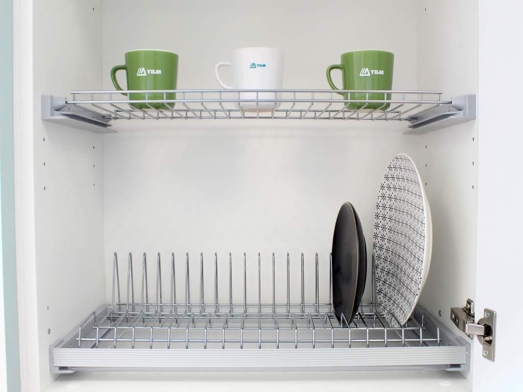 Кухня прямая ТБМ Люкс «Николь» (1.8 м, белый/графит) Изображение 3