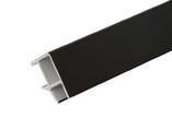 Соединитель 90гр цоколь кух пластик Черный 66 см FIRMAX