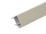 Соединитель 90° цоколя ПВХ, крем 66 cм FIRMAX