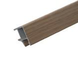 Соединитель 90° цоколя ПВХ, дуб кремона 66 см FIRMAX