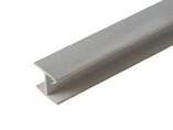 Соединитель 180гр цоколь кух пластик Алюминий 66 cм FIRMAX
