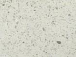 Бортик пристеночный овальный белое сияние, глянец, 39*19 мм, L=4000 мм