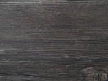 Бортик пристеночный треугольный ALPHALUX, 30*25 мм, L=4.1м, Дуб темный (Rovere alley) A.4575, алюминий