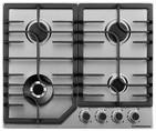 FS 63 X Газовая варочная поверхность металл, ширина 60 см, цвет нержавеющая сталь