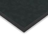Фасад МДФ глянцевый черные цветы 629 AGT