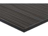 Фасад мебельный МДФ ALVIC глянцевый луч черный (Laser Negro)