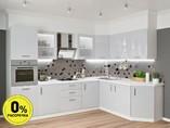 Кухня угловая ТБМ Люкс «Алекса» (3.1x1.9 м, серый)