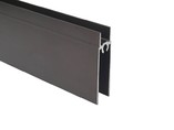 FIRMAX Планка нижняя, алюминий, коньяк, 5800 мм