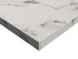 Плита ЛДСП SYNCRON 1220*18*2750 мм, белый мрамор (Oriental White Silk Stone)