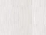 Плита МДФ AGT 1220*18*2800 мм, односторонняя глянец горизонтальный белая волна 664