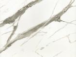Плита МДФ AGT 1220*18*2800 мм, односторонняя, инд. упаковка, глянец Эфес белый 6007
