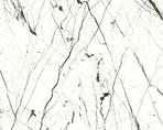 Плита МДФ AGT 1220*18*2800 мм, односторонняя, инд. упаковка, глянец торос белый мрамор 6018