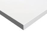МДФ плита Luxe by Alvic (белый полар (Blanco Polar) глянец, 1220x18x2750 мм)