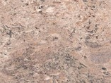 Пристеночный бортик овальный, Миланский гранит природный камень, 34*29 мм, L=4.2м