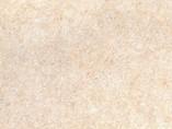 Пристеночный бортик овальный, Травертин каталонский природный камень, 34*29 мм, L=4.2м