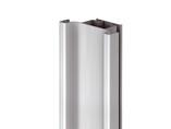 Профиль GOLA Alphalux вертикальный средний(для шкафов из ДСП=16мм) L=4.5м., алюминий