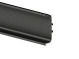 Профиль GOLA FIRMAX П-образный для нижних баз L=4200mm, алюминий черный