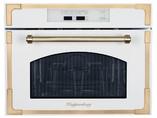 RMW 969 C Встраиваемая микроволновая печь, цвет: бежевый/ручка дверцы и рамки цвета бронзы