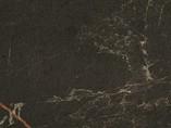 Пристеночный бортик овальный, Мрамор Крейлит, 34*29 мм, L=4.2м