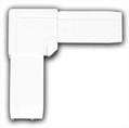 Уголок ABS для профиля москитной сетки BAUSET (МС-СТАНДАРТ, белый)