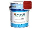 """Лак фасадный Rhenocoll Impragnierlasur 52S c защитой от синевы, """"Rot 3.05"""", шелковисто-глянцевый 1л"""