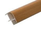 Соединитель 90гр. кухонного цоколя пластик Бук L=1м FIRMAX