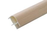 Соединитель 90гр. кухонного цоколя пластик Дуб беленый L=1м FIRMAX
