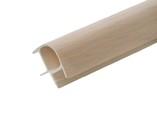 Соединитель 90гр. кухонного цоколя пластик Дуб млечный L=1м FIRMAX