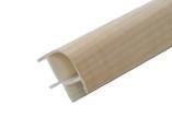 Соединитель 90гр. кухонного цоколя пластик Клен L=1м FIRMAX