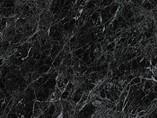 Бортик пристеночный овальный 118 Черный мрамор 652E (98104) 4200 мм