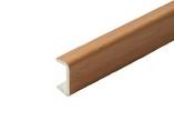 Торцевая заглушка кухонного цоколя пластик Орех миланский L=1м FIRMAX