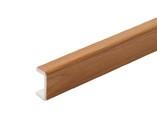 Торцевая заглушка кухонного цоколя пластик Вишня L=1м FIRMAX