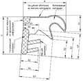 Уплотнитель для окон на наплаве Deventer SP33 (киби) [норма отпуска 5 м]