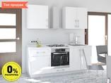 Кухня прямая ТБМ Люкс «Пенелопа» (1.8 м, белый)