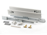 Комплект для ящика Firmax 500 мм, H83мм с доводчиком, серебристый