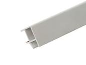 Соединитель 90° цоколя ПВХ, белый 66 cм FIRMAX