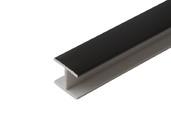 Соединитель 180гр цоколь кух пластик Черный 66 см FIRMAX