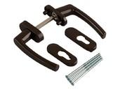Балконная ручка Rotoline, коричневый