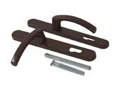Гарнитур нажимной FKS подпружиненный, коричневый 30A/1005/8019/TS72
