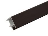 Соединитель 90° цоколя ПВХ, венге 66 см FIRMAX