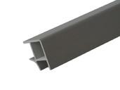 Соединитель 90° цоколя ПВХ, алюминий 66 cм FIRMAX