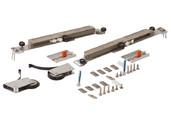 Комлект роликов с доводчиком (на одну дверь,  L+R части) FIRMAX