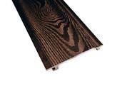Фасадная панель ДПК (текстура дерева) венге, 155х22х3000 мм (рабочая ширина 132мм)