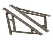 Фрикционные ножницы тип Р для фрамуг с верхним подвесом до 1700 мм, 2 штуки