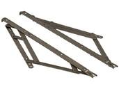 Фрикционные ножницы тип Р для фрамуг с верхним подвесом до 1800 мм, 2 штуки