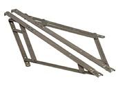 Фрикционные ножницы тип Р для фрамуг с верхним подвесом до 2000 мм, 2 штуки