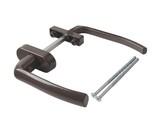 Гарнитур балконный алюминиевый Elementis 120 мм, узкий, коричневый