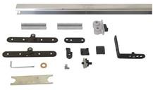 Комплект креплений для складных дверей 40 мм до 60 кг с направляющей