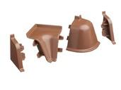 Комплект соединителей к бортику 118 / SB 135 96138 коричневый